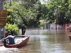 Enchentes no Paraguai tiram mais de 100 mil pessoas de casa no Natal