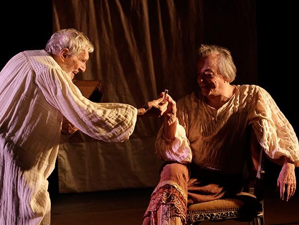 Ednei Giovenazzi divide o palco com Pietro Mário (Foto: Guga Melgar)