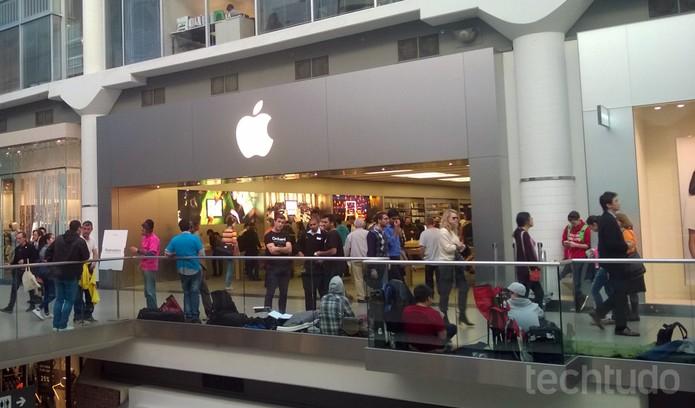 Lançamento iPhone 6 (Foto: Elson de Souza/ TechTudo)