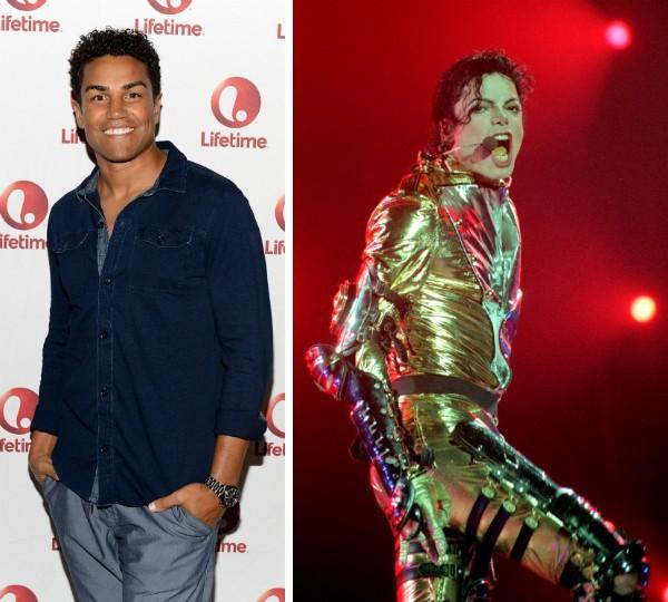 TJ Jackson e o tio, Michael Jackson (Foto: Getty Images)