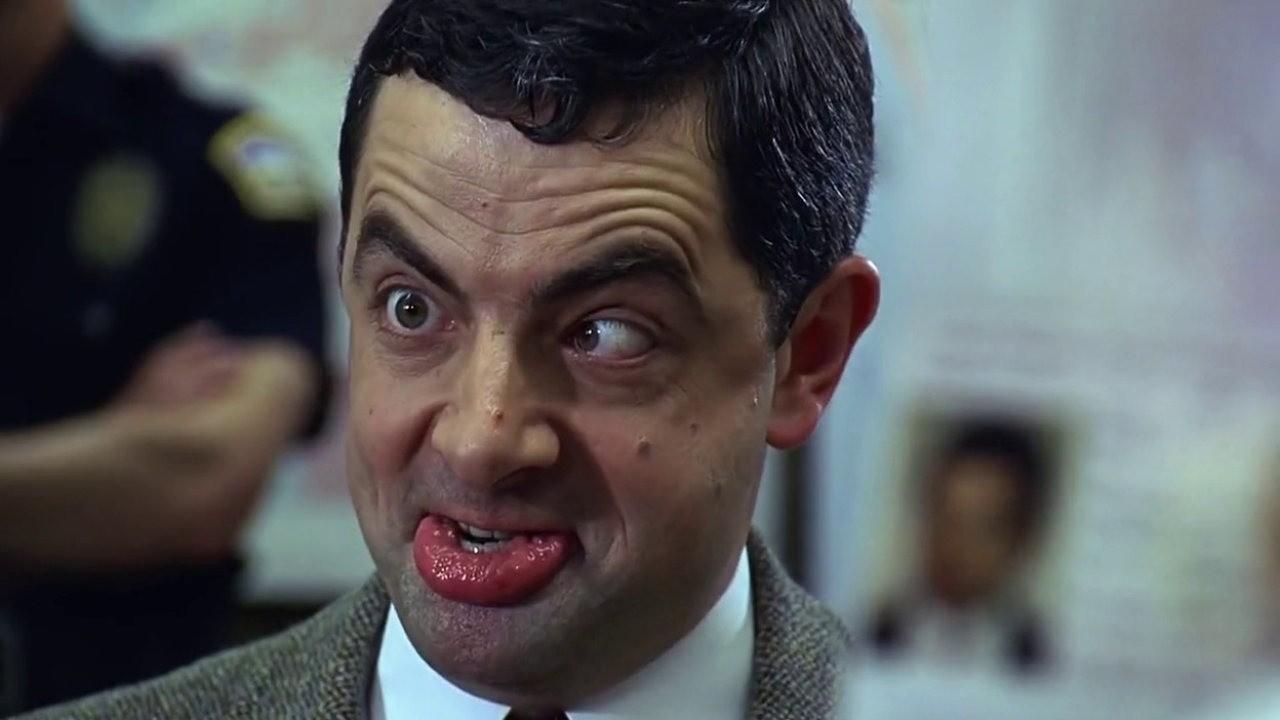 Mr. Bean no filme fictício Mean Bean (Foto: Reprodução/Youtube)