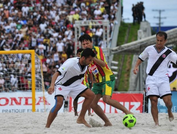 Vasco da Gama e Sampaio Correa do Maranhão na Copa Brasil de futebol de areia (Foto: Antônio Lima/Divulgação)