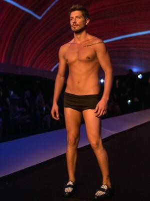 Daniel é um dos modelos mais estilosos da agência de Fanny (Foto: Felipe Monteiro/ Gshow)