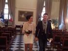 Ariadna mostra nova foto de seu casamento ao lado do marido