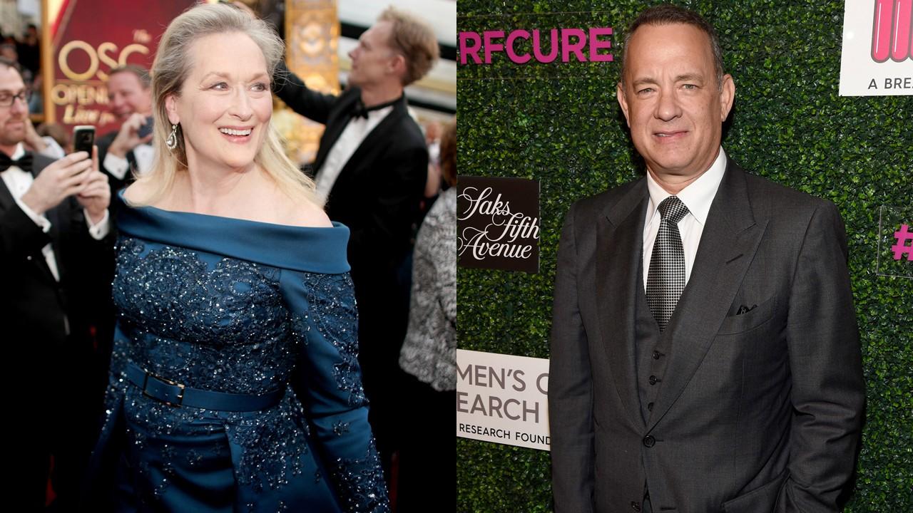 Meryl Streep e Tom Hanks vo contracenar no novo filme de Steven Spielberg (Foto: Divulgao)