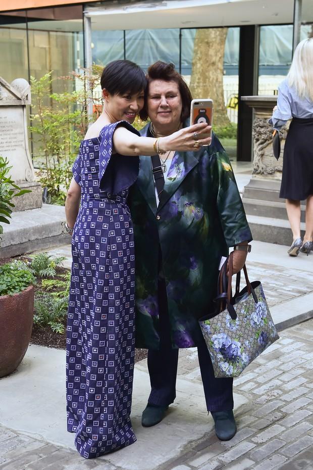 Sandra Choi and Suzy Menkes (Foto: Divulgação)