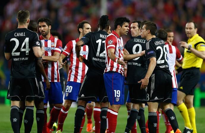 Atlético de Madri x Chelsea (Foto: AP)