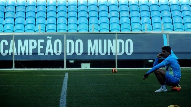 renato gaúcho treino grêmio arena (Foto: Hector Werlang/Globoesporte.com)