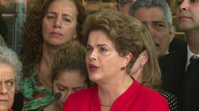 Dilma Rousseff pede ao STF que anule a sessão de impeachment do Senado