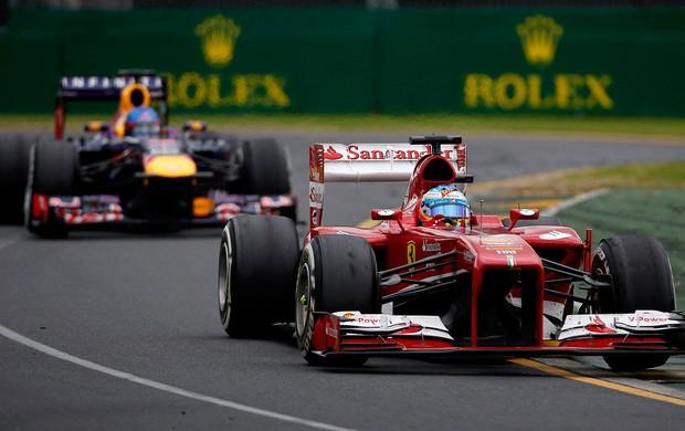 fernando alonso ferrari gp da austrália (Foto: Agência Reuters)