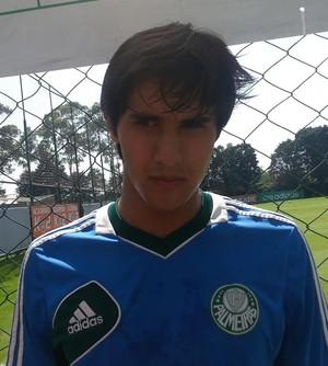 Thiago Martins Palmeiras (Foto: Marcelo Hazan)