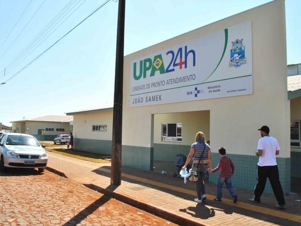 Unidade de Pronto Atendimento 24h (UPA) do Jardim das Palmeiras deve ser procurado apenas em casos de sintomas graves (Foto: Prefeitura de Foz do Iguaçu / Divulgação)