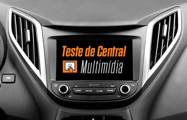 Teste de Central Multimídia Hyundai HB20  (Foto: Autoesporte)