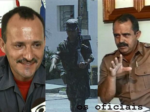 Oficiais ET de Varginha (Foto: Arquivo EPTV)