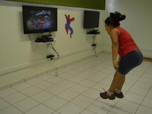 Objetivo do projeto é provar que se exercitar é divertido (Foto: Taiga Cazarine/G1)
