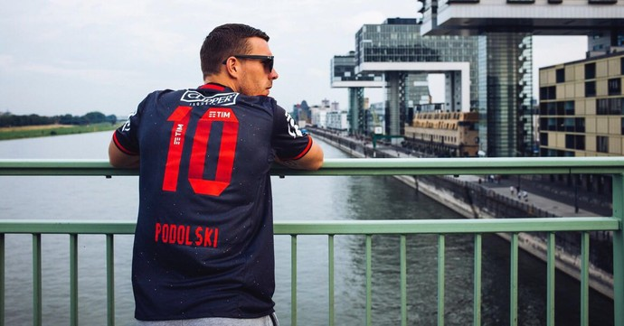 Podolski, Flamengo (Foto: Arquivo pessoal)