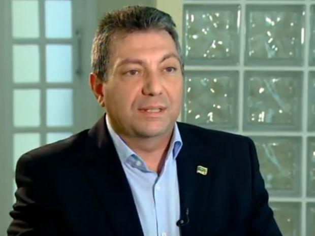 Walter Ciglioni que implantar o ensino progressivo e com tempo integral (Foto: Reprodução/TV Tem)