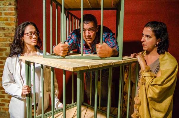 Espetáculo parte de questão familiar para incitar reflexões sobre violência (Foto: Divulgação)