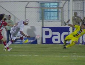 salgueiro x náutico (Foto: Reprodução / TV Globo)