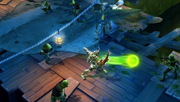 Dungeon Hunter 5 recebe nova atualização com novas fases e cenários (Foto: Divulgação)