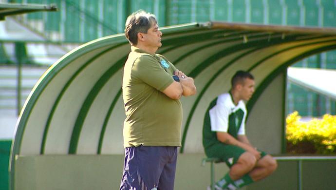Marcelo Veiga, técnico do Guarani (Foto: Márcio Campos/EPTV)