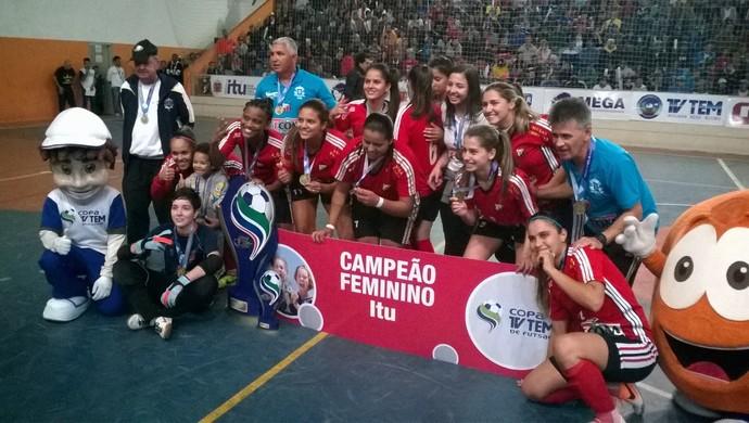 vitória classificou Itu para a Copa dos Campeões, torneio que reúne os quatro times que faturaram a Copa TV Tem nas edições regionais (Foto: Guilherme Giavoni )
