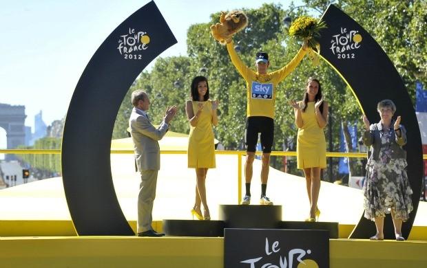 Bradley Wiggins Volta da França (Foto: EFE)