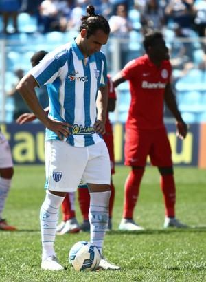 Léo Gamalho Avaí (Foto: Jamira Furlani/Avaí FC)