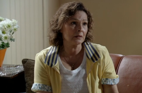 Louise Cardoso é Salma em 'Sangue bom' (Foto: Reprodução)
