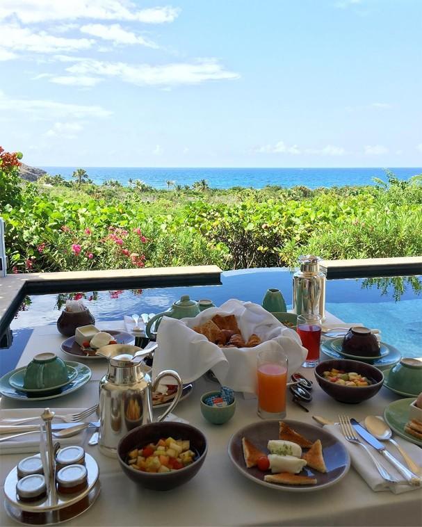 Café da manhã com vista de Bel Pimenta (Foto: Instagram/Reprodução)