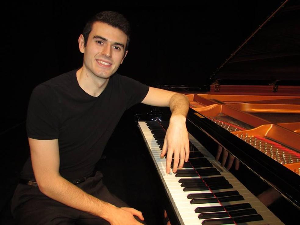 Saiu na TV Tem: 'Pianista italiano realizará recital no Conservatório de Tatuí'