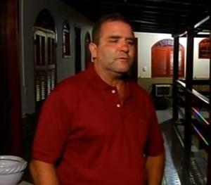 Proprietário de pousada reclama dívida de R$ 4 mil do Quissamã (Foto: Reprodução/Inter TV)