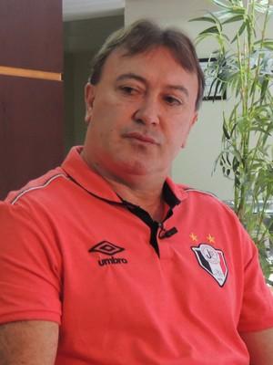 Maringá João Carlos Maringá Joinville superintendente (Foto: João Lucas Cardoso)
