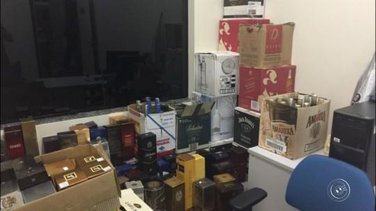 Operação da Polícia Civil apreende 1,5 mil litros de bebidas contrabandeadas