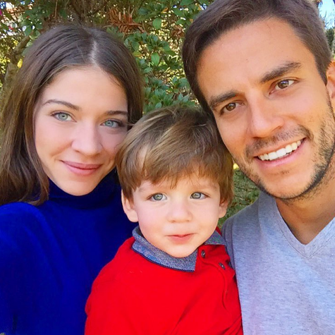 Luma Costa com a família (Foto: Reprodução)