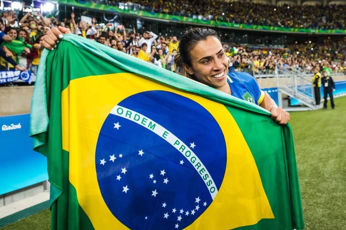 Marta Brasil x Australia (Foto: AFP)