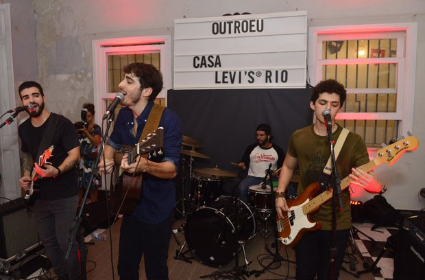 Show da banda Outro Eu (Foto: Fabio Cordeiro/Ed. Globo)