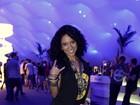 Cinara Leal no Rock in Rio: 'Estou solteira e vim procurar um namorado'