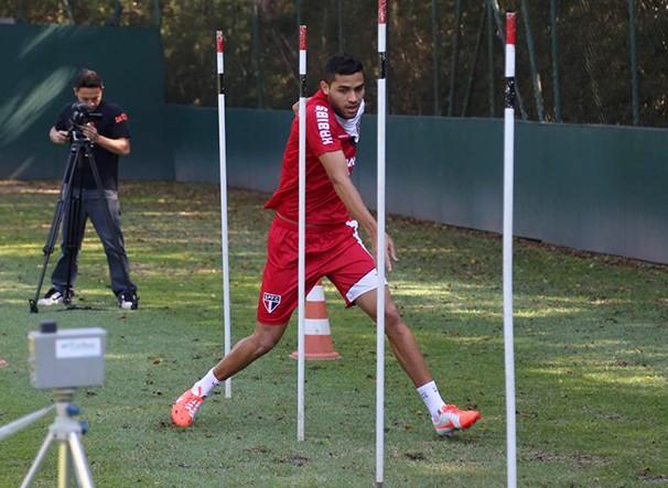 Alan Kardec está pronto para estrear pelo São Paulo (Foto: Site Oficial saopaulofc.net / reprodução globoesporte.com)
