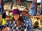Paula Morais e Ronaldo posam com roupa parecida: 'Parceria'