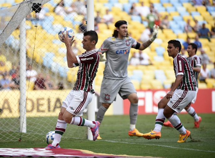 Wagner Fluminense x Corinthians Maracanã (Foto: André Durão)