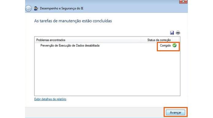 Os ajustes serão salvos e aplicados no navegador Internet Explorer (Foto: Reprodução/Barbara Mannara)
