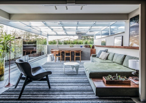 Apartamento Alberto Weisser. Projeto Vanessa Féres (Foto: Maíra Acayaba / Editora Globo)