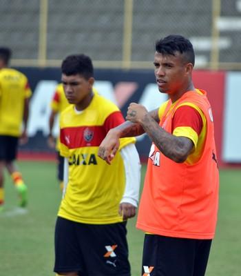 Vitória; treino; Vander (Foto: Francisco Galvão/EC Vitória/Divulgação)