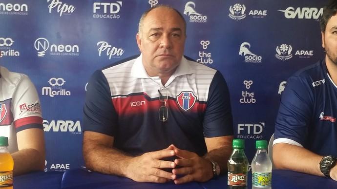 Ruy Scarpino - técnico Maranhão (Foto: Bruno Alves)