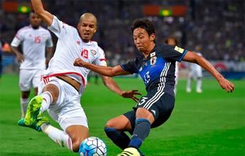 BLOG: Pedra no sapato: Com erros de goleiro, defensores e juiz, Japão perde para EAU