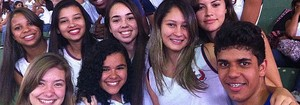 Jogos na Rede 2013: Time de da Escola Alto Jatibocas ganha fãs (Divulgação/Sedu)