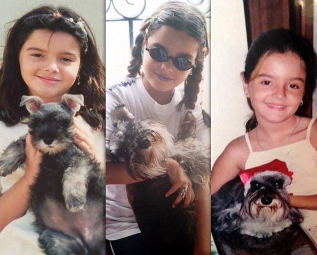 Giovanna Lancellotti diz que é muito fã da dupla Sandy & Júnior desde a infância (Foto: Arquivo Pessoal)