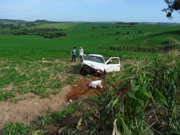 Acidente em Trindade do Sul deixou quatro pessoas mortas (Foto: Divulgação/Brigada Militar)