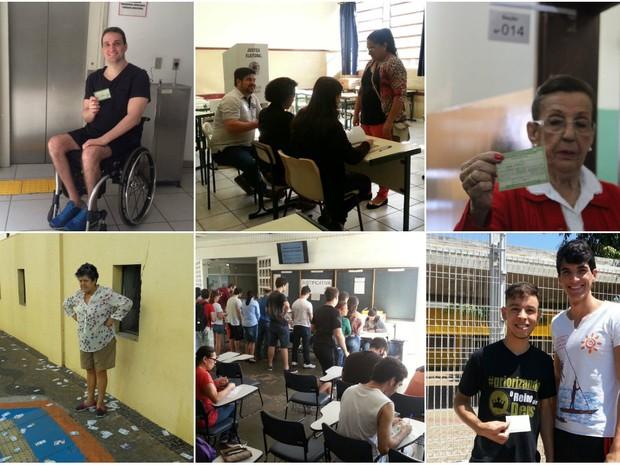 Galeria de fotos das eleições em São Carlos, Araraquara e Rio Claro (Foto: Samuel Pancher, Gabriela Martins e Mariana Estevo)